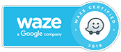 MGH Waze Certified Badge